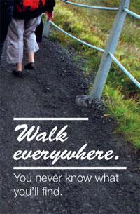 Walk everywhere