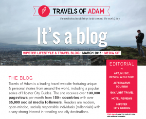 Travels of Adam - Hipster Lifestyle & Travel Blog