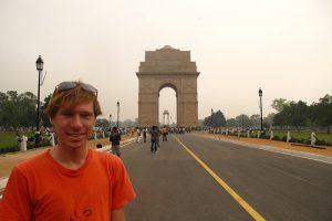 At Delhi's India Gate