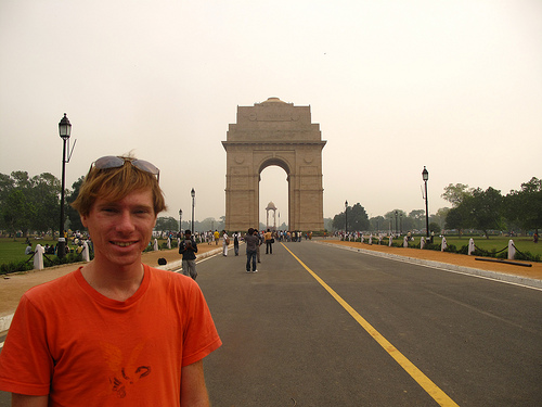 At Delhi's India Gate