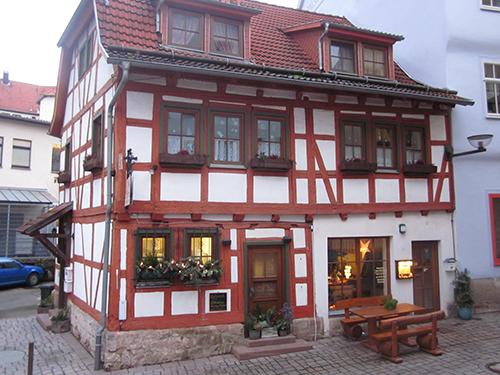 Schmalkalden architecture (looks like a toy)