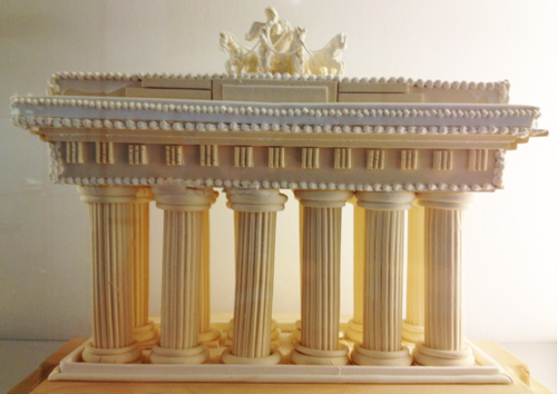 Brandenburg Tor made out of sugar
