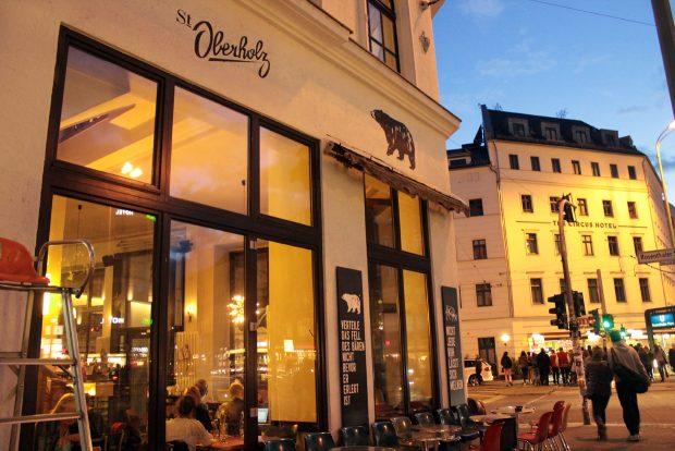 Oberholz in Rosenthaler Platz