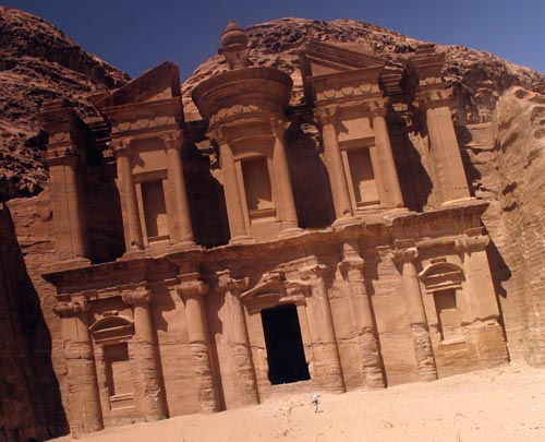 Petra's Monastery at summertime 2011