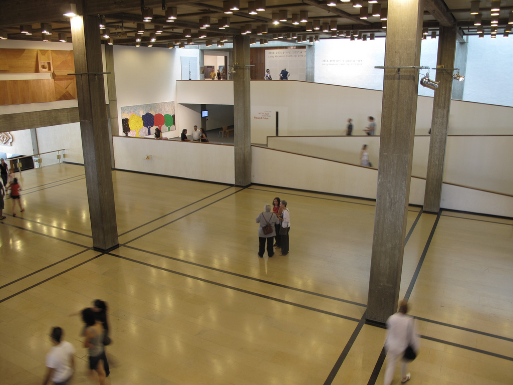 Inside the Tel Aviv Museum of Art