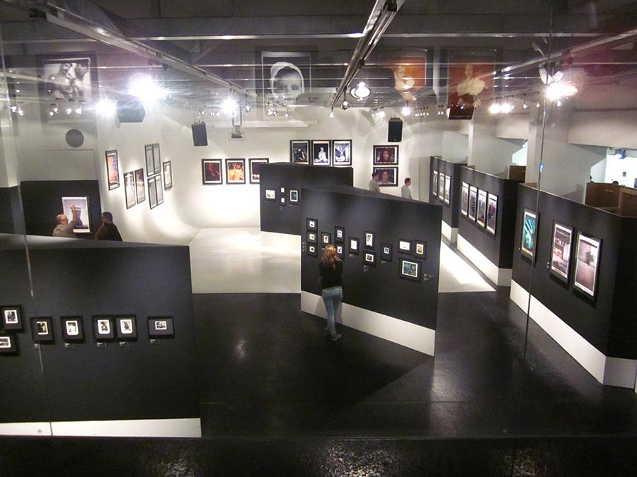 Polaroid exhibit at WestLicht