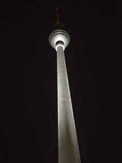 Fernsehturm, TV tower in Berlin