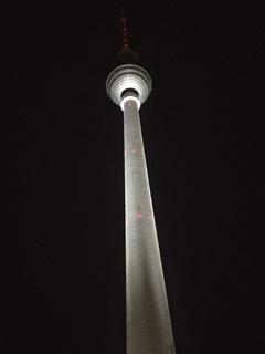 Fernsehturm, TV tower in Berlin