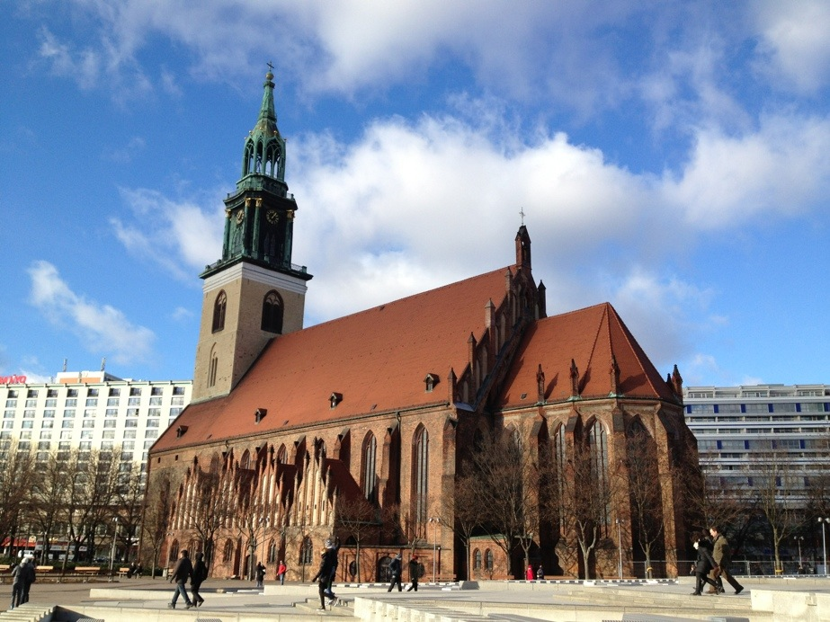 St Mary's Church, Neptunbrunnen, Berlin