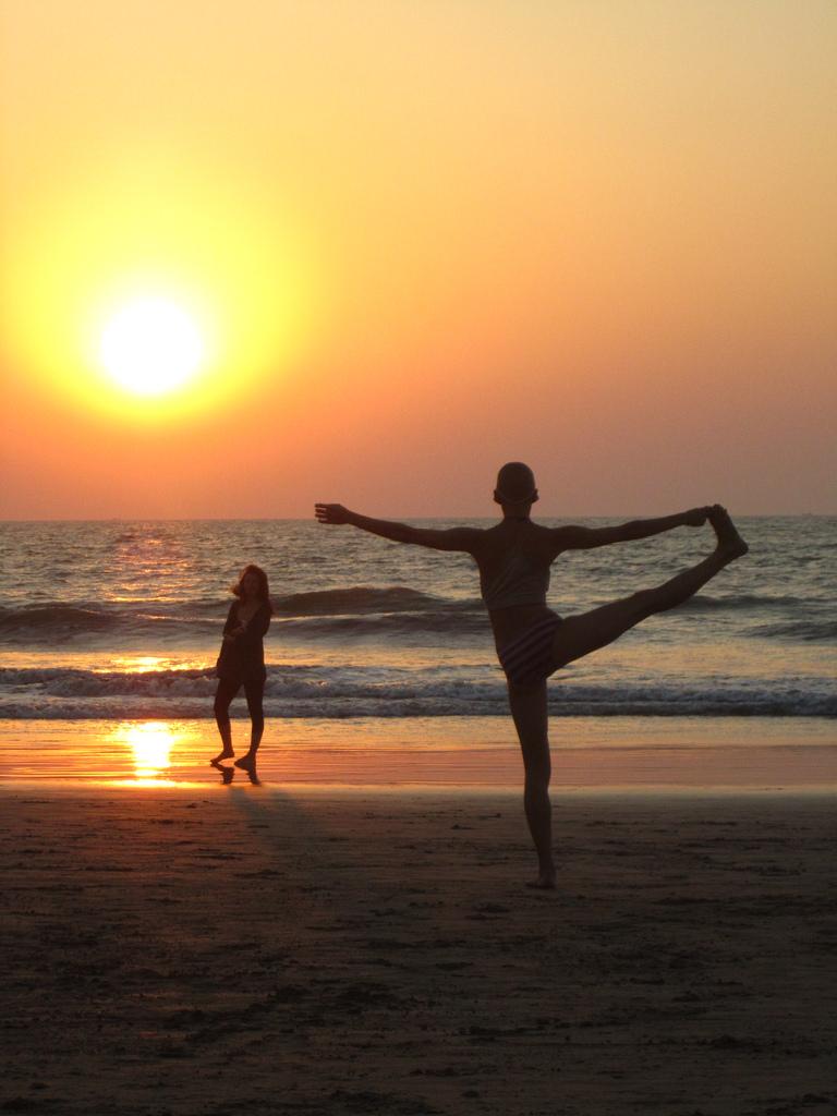 Sunset at Arambol Beach, Goa