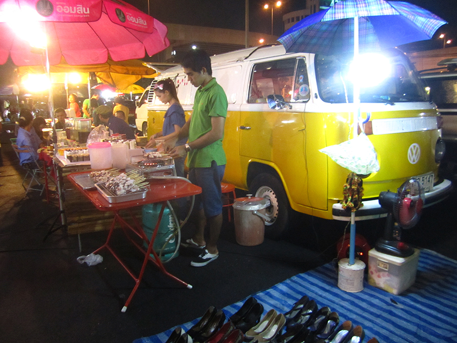 Bangkok Hipster Night Market