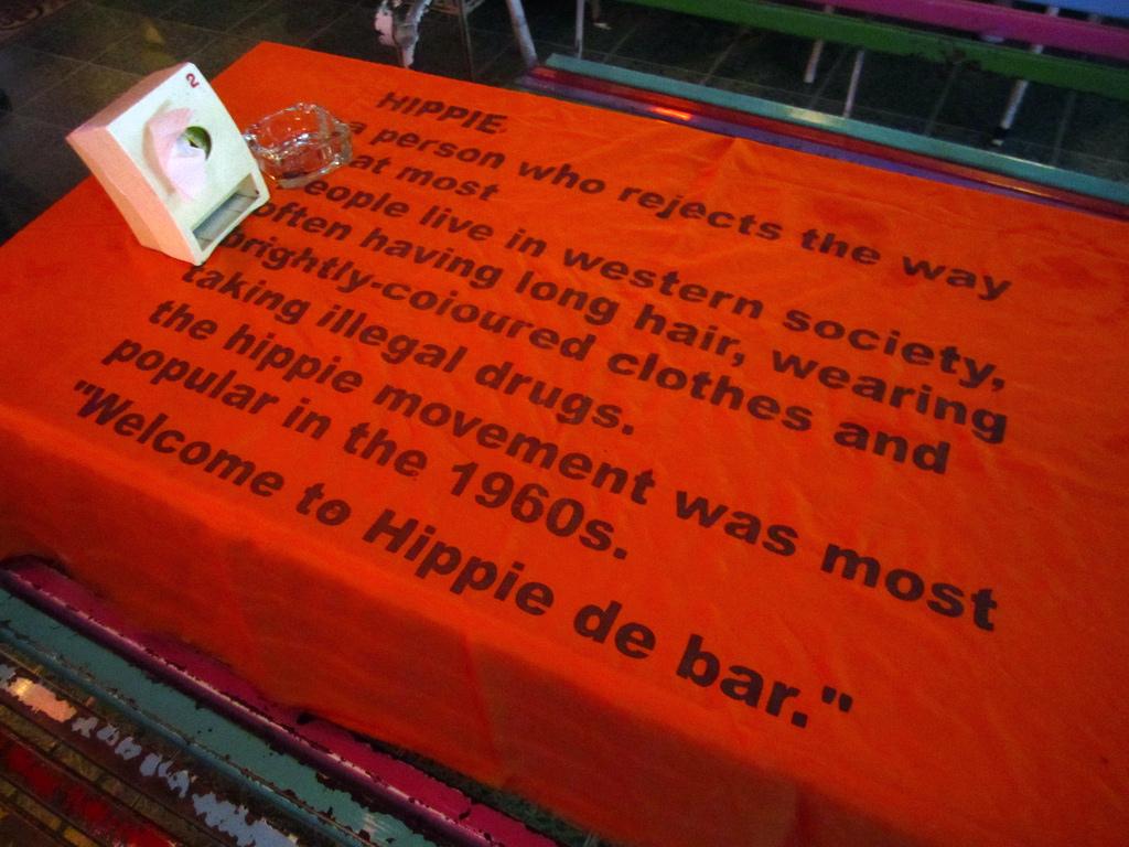 Hippie de Bar, BKK