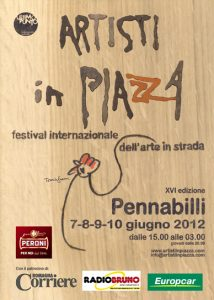 Artisti in Piazza (flyer)