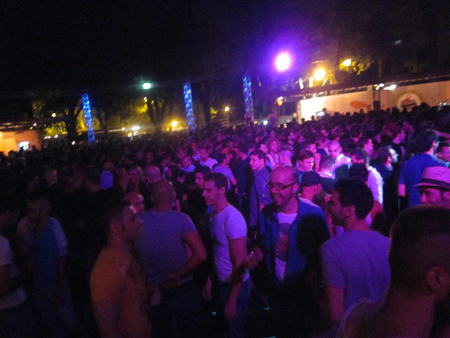 Glamda - gay club in Rome