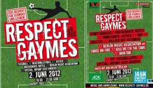 Respect Gaymes flyer