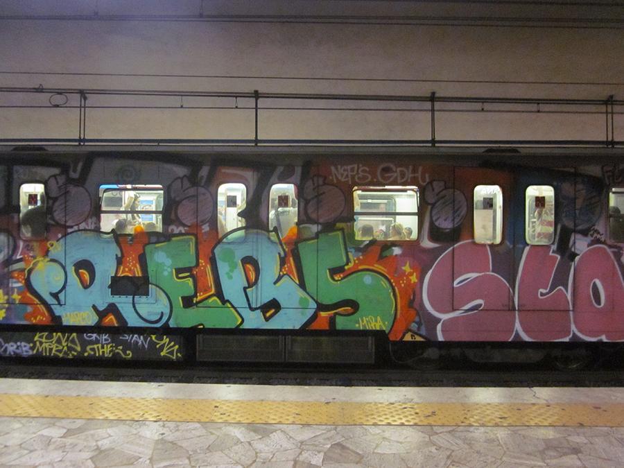 rome's metro/subway