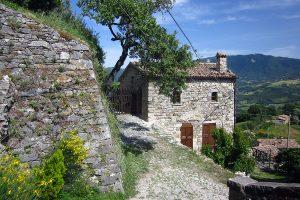 Petrella Guidi medieval village in Italy