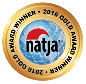 2016 Gold Award Winner - North American Travel Journalists Association