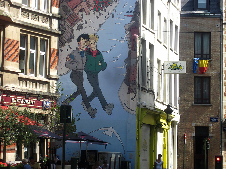 Most of Brussels gay bars