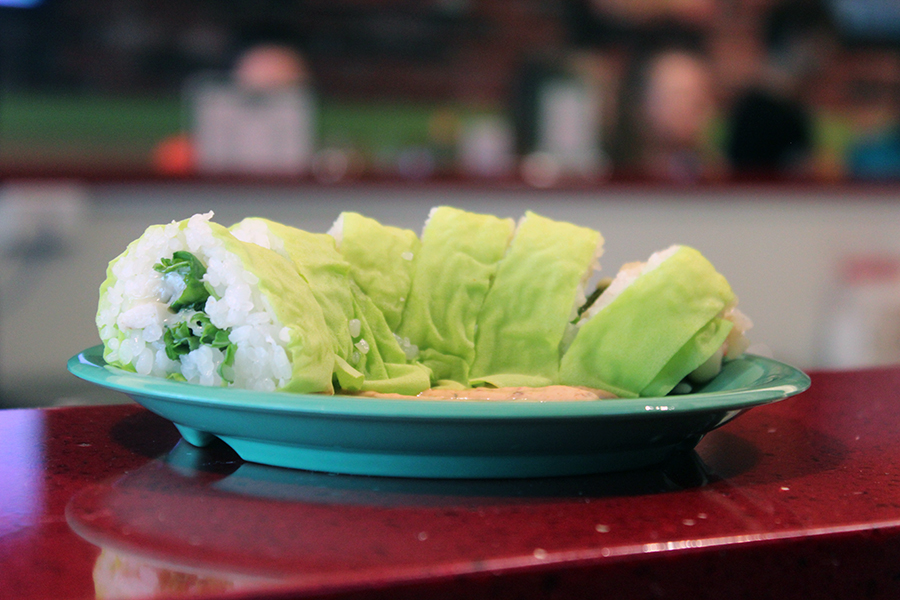 guacamole sushi