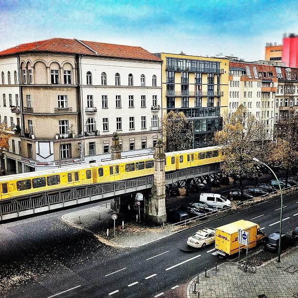Nollendorfplatz, crisp weather in Berlin for Autumn