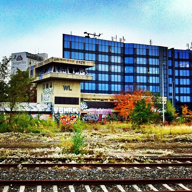 Berlin ringbahn in October