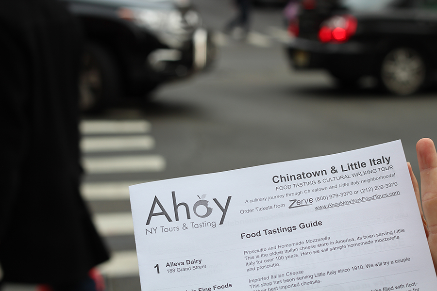 Food tour NYC