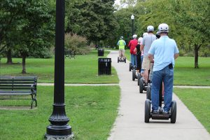Columbus segways