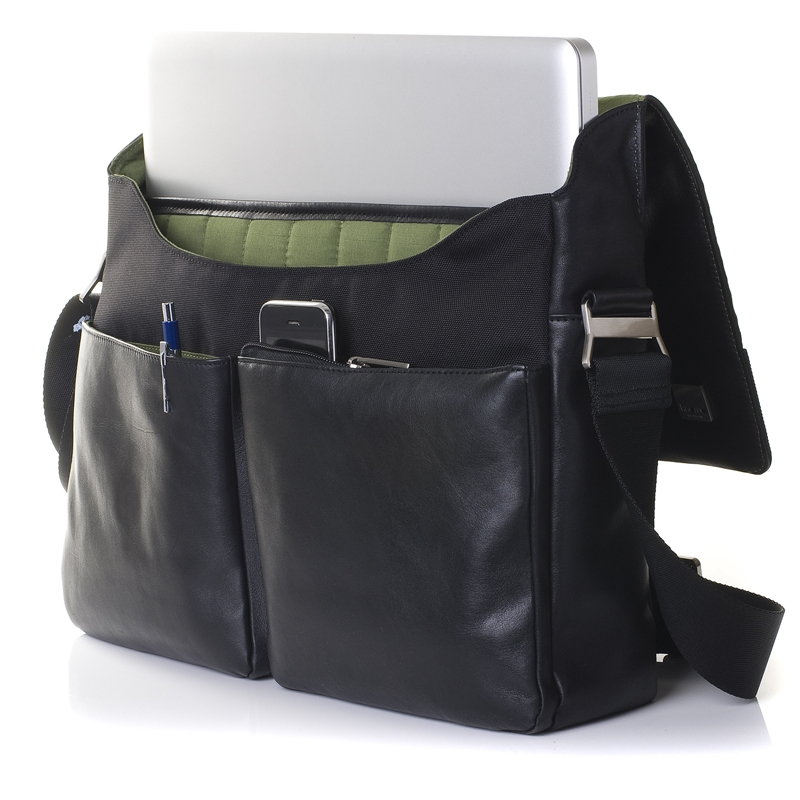knomo laptop messenger bag (photo)