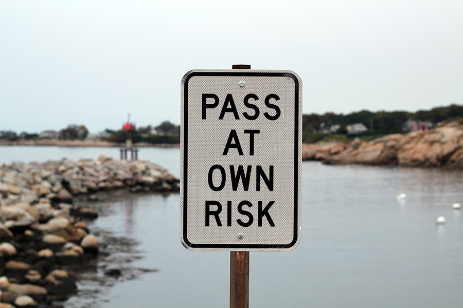 Pass at own risk