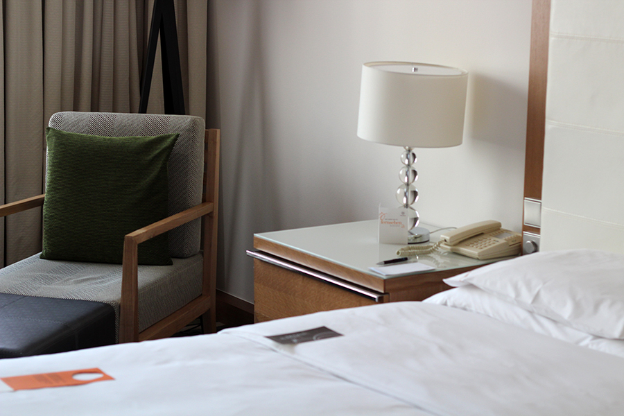 Sheraton hotel room