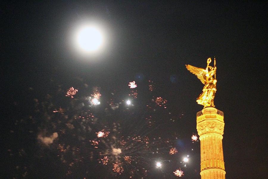 Berlin NYE Silvester (fireworks)