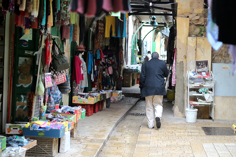 Nazareth Old City market