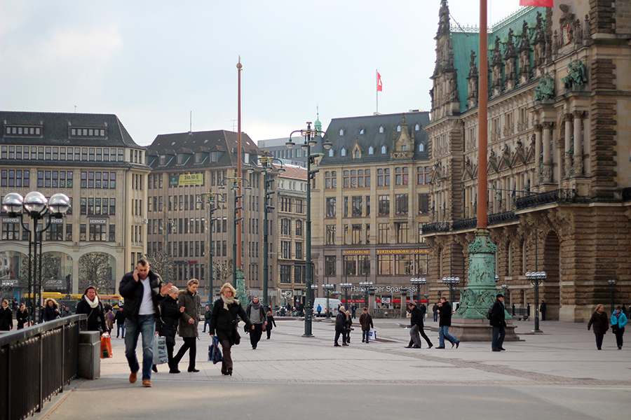 hamburg central square