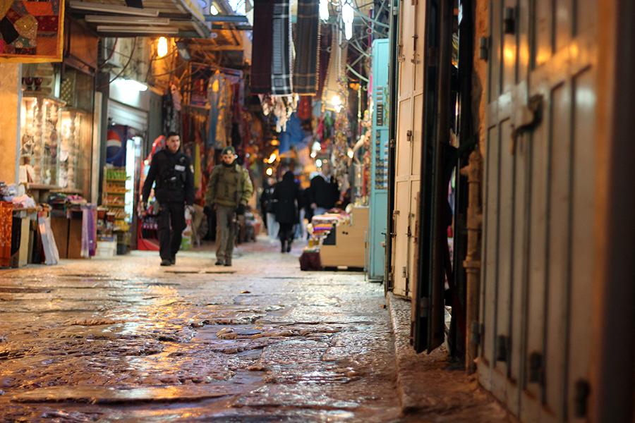 Jerusalem Old City, first-time