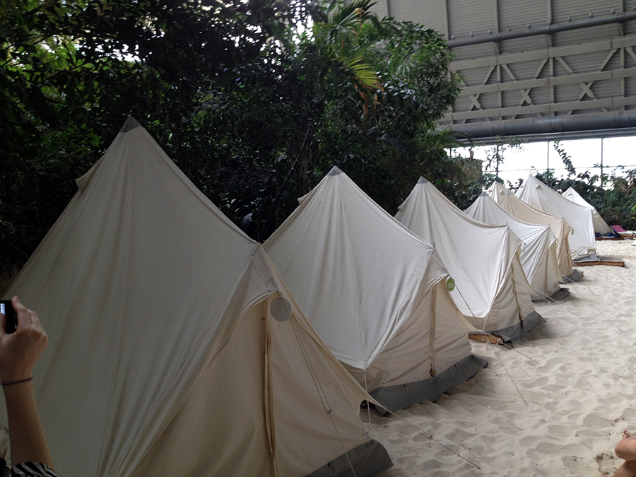 Camping Tropical Islands