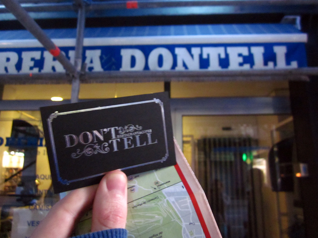 Dontell speakeasy