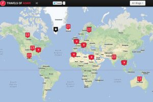 Click to view all my travel blogs by geographic location