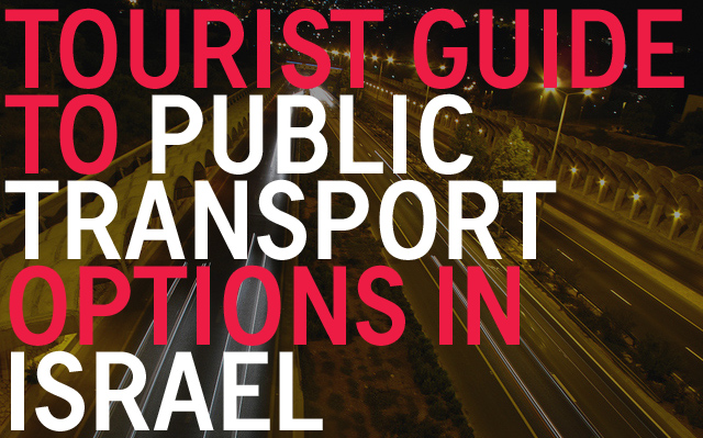 Public Transport in Israel