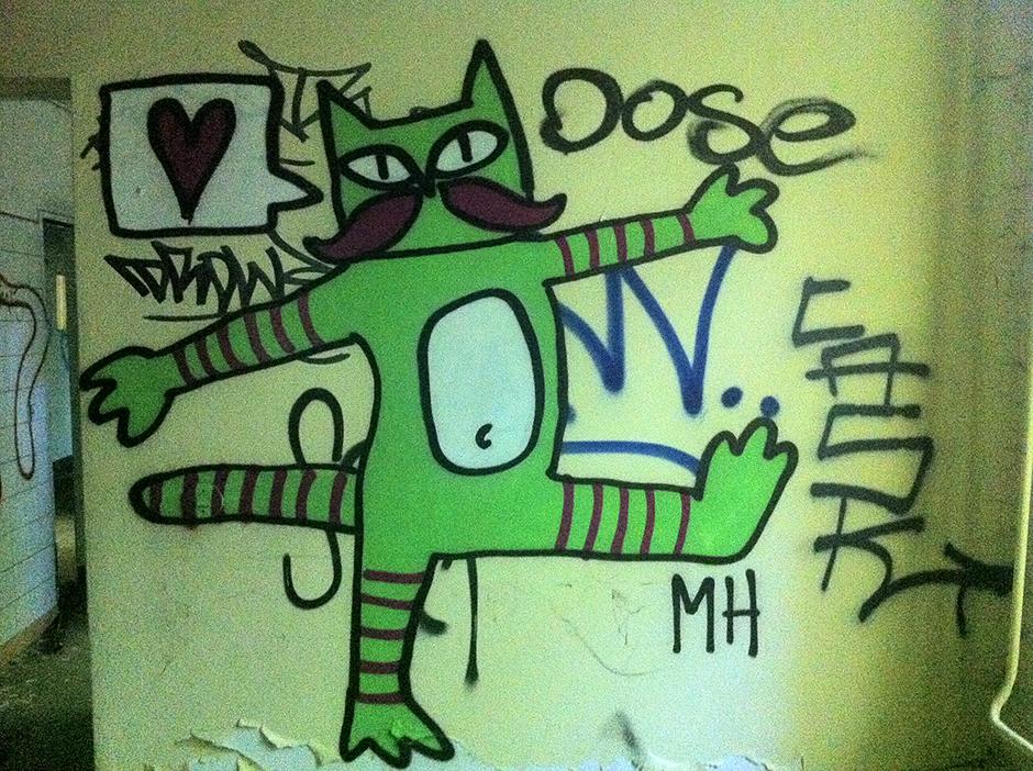 Graffiti Abandoned Berlin Hospital