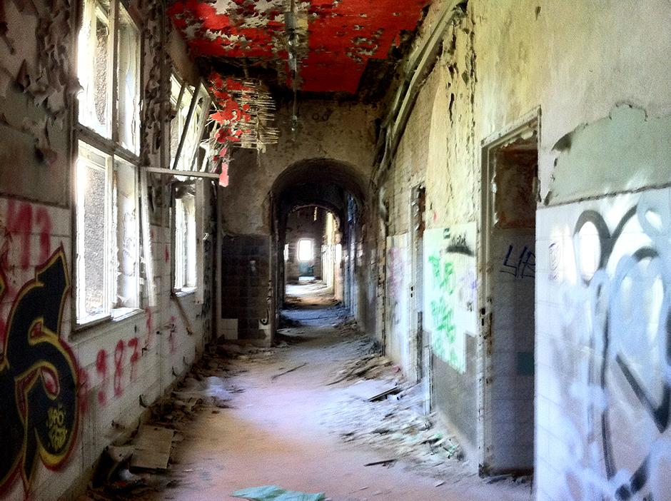 Abandoned krankehaus