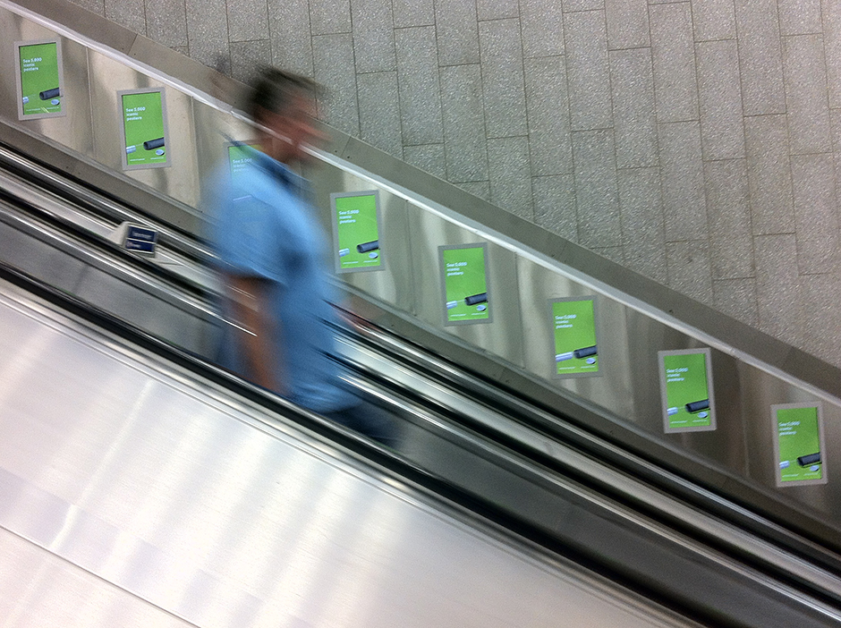 Advertising - London Underground Tube