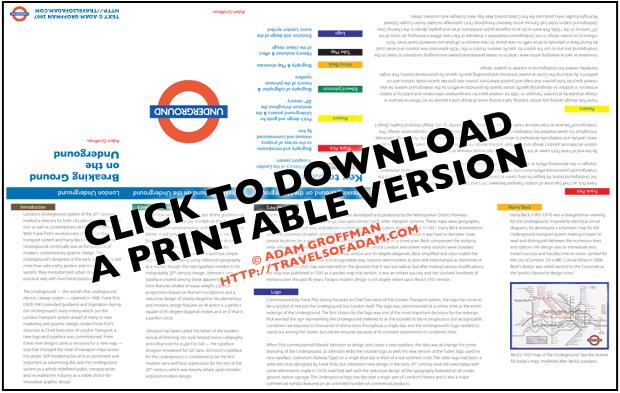 Graphic Design History - London Underground