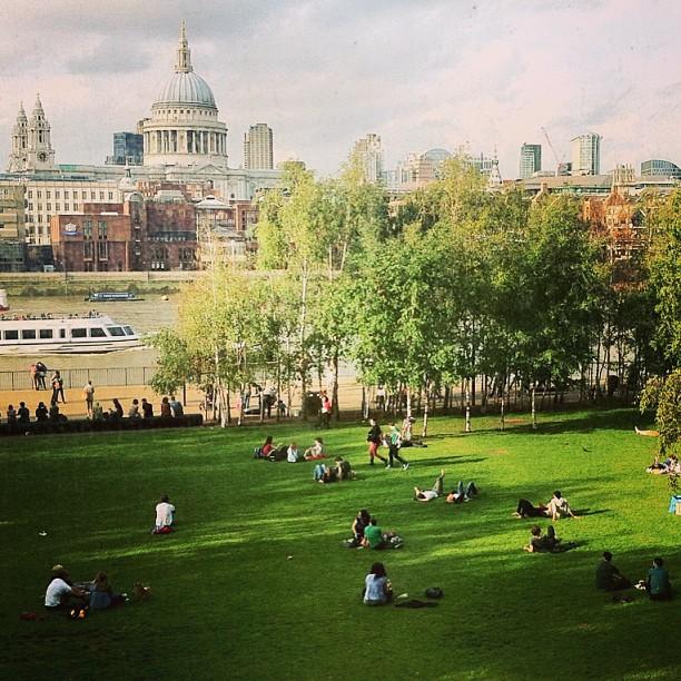 London skyline - view from Tate Modern