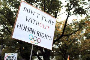 human rights olympics
