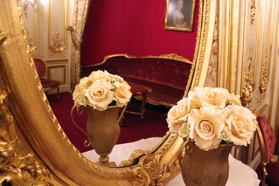 Inside the Baden-Baden casino
