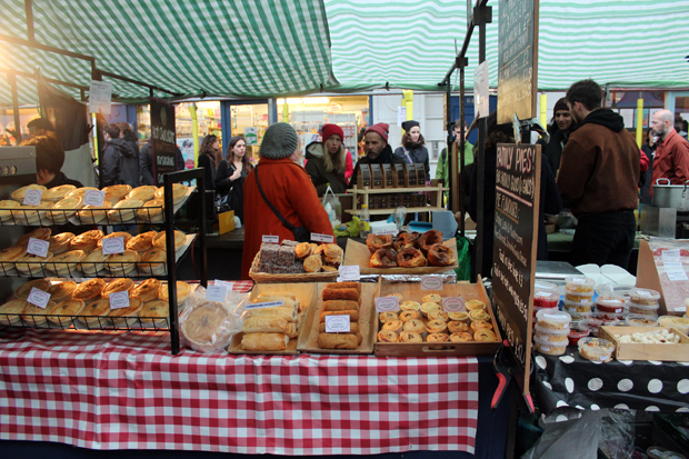 East London market