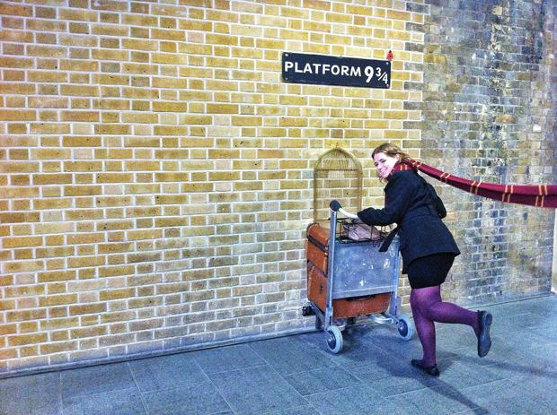 Kings Cross Harry Potter Platform