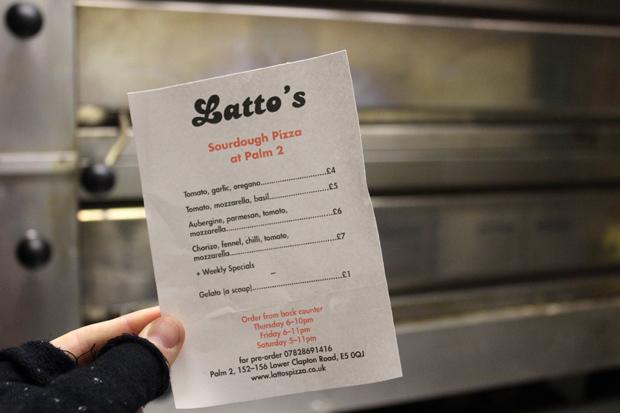 Latto's Pizza, East London