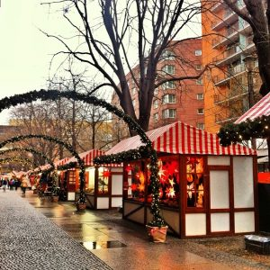 Yuletide in Berlin at the Potsdamer Platz Christmas Market